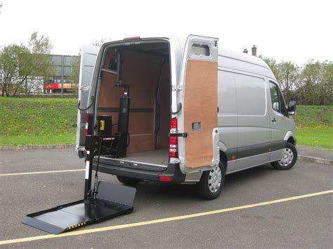 lifted mercedes van new mercedes tail lift vans uk delivery excellent