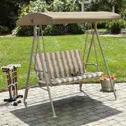 Garden Seat With Canopy by Essential Garden Swing Seat With Canopy Kmart