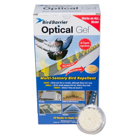 bird barrier optical gel bird deterrent