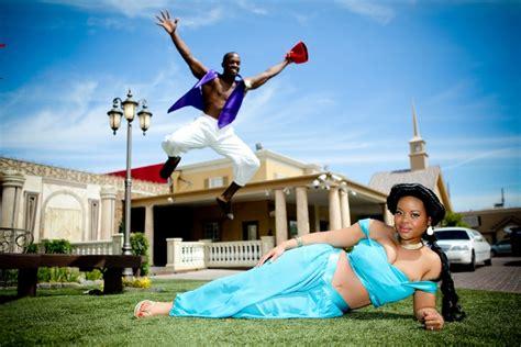Themes In The Book Jasmine | costumed disney wedding