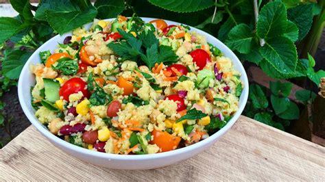 couscous salad couscous salad recipe youtube