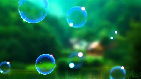 video background hd bubble animation video  realistic