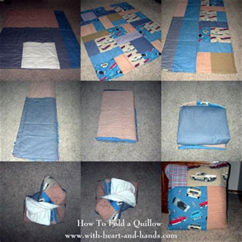 pattern for making a quillow michele bilyeu creates with heart and hands how to make