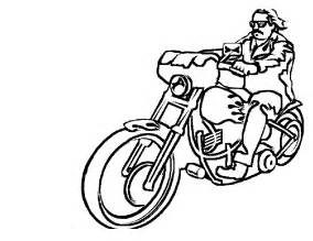 Free Printable Motorcycle Coloring Pages For Kids sketch template