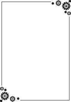 poster clipart border simple pencil and in color poster
