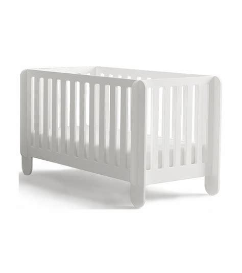 Oeuf Elephant Crib by Oeuf Elephant Crib In White