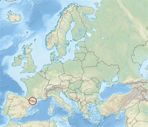 andorra europe map file andorra in europe relief mini map svg