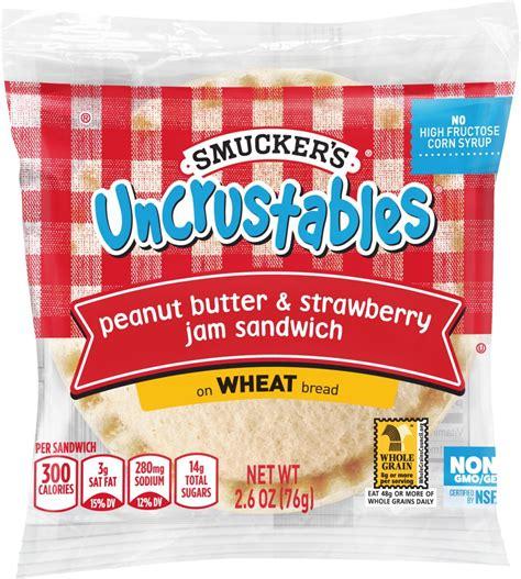 whole grain uncrustables whole wheat uncrustables calories