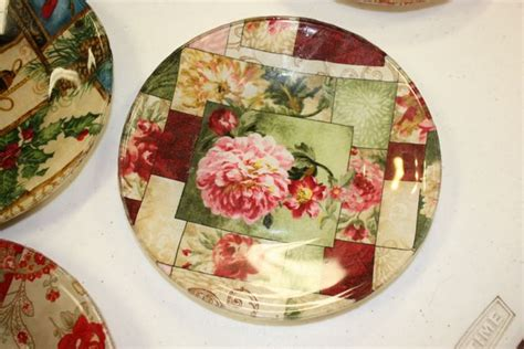 decoupage plate the fws pony club quilt along wk 13 clover leaf captain