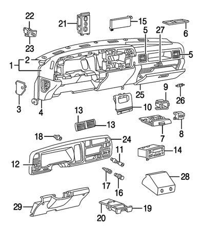 chevy 3500 wiring diagram 1995 under dash   get free image