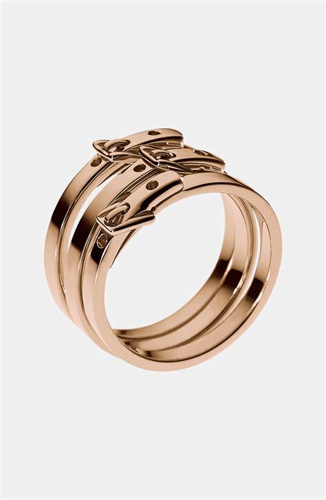 gold rings michael kors gold rings