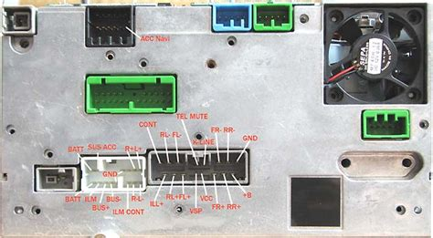 honda navigation pinout diagram  pinoutguidecom