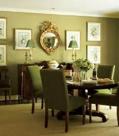 Sage Green Dining Room by The Enchanted Home