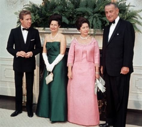 pricess margaret file princess margaret and lord snowdon with lyndon b