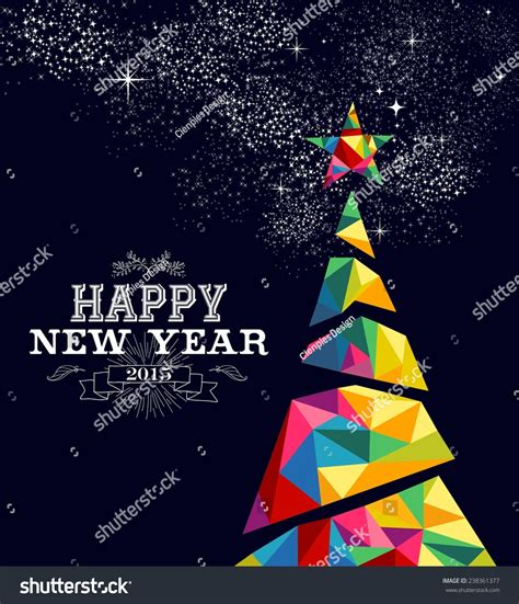 new year design poster happy new year 2015 greeting card or poster design with