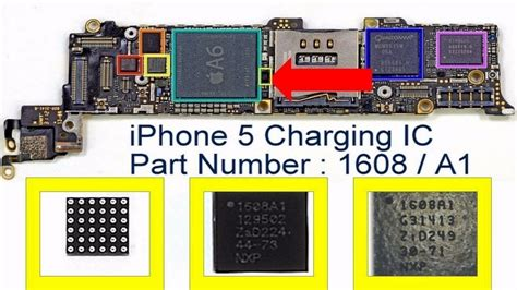 iphone 5 charger oem new oem iphone 5 usb charger charging chip u2 ic 1608 for