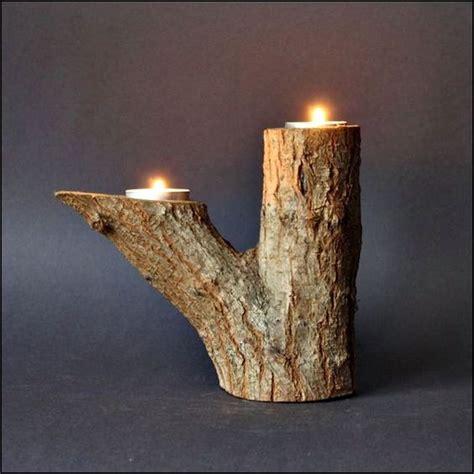porta candele un portacandele fai da te con materiali naturali 20 idee