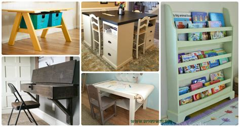 easy diy   school kids furniture ideas projects