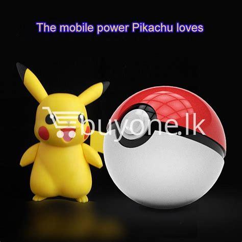 Original Powerbank Pokeball 12000mah best deal 12000mah universal pokeball charger pokemons go power bank buyone lk