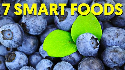 7 Foods To Make You Smarter by 7 Foods That Make You Smarter