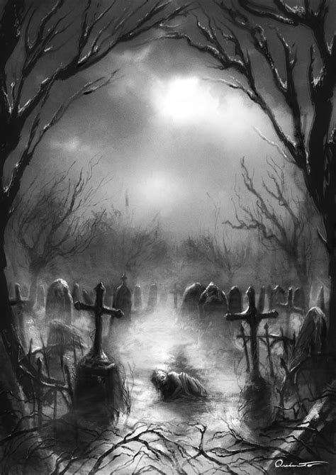 cemetery by satibalzane on deviantart