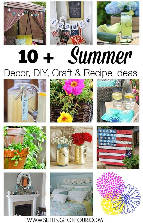 diy crafts for home decor fabulous summer crafts decor craftingee recipes crafts decor and printables fun in the