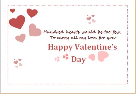 word 2016 valentines day card template s day greeting cards for word formal word
