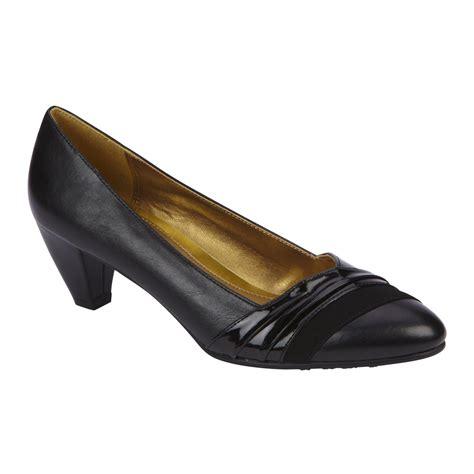 wide dress shoes basic editions s dress shoe renee wide width navy
