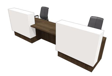 two person reception desk 2 person reception desk white 2 tone reception desks in