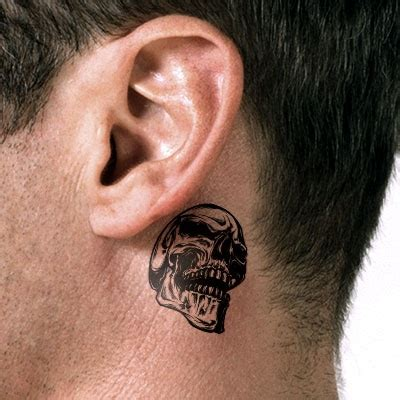 dragon tattoo behind ear 21 behind the ear tattoo ideas