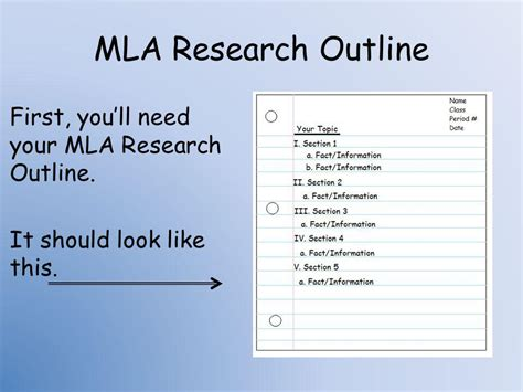 a research paper should how to organize a research paper using notecards ppt