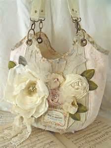 shabby chic handbag purse shabby purses pinterest