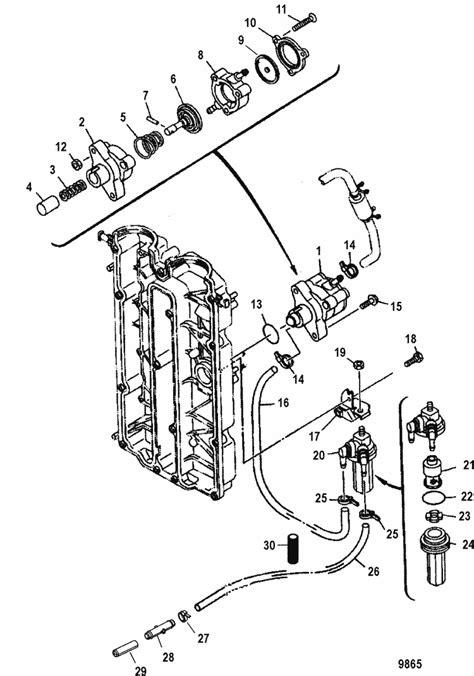 diagram of mercury 60 hp 4 stroke engine diagram get