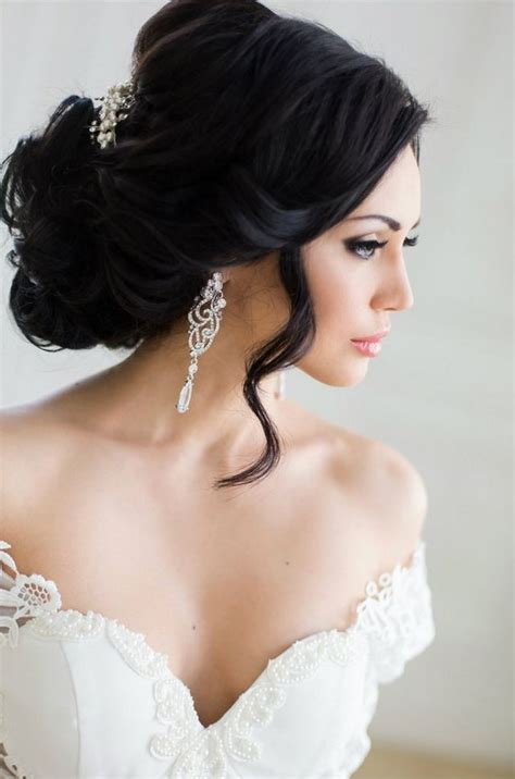 Wedding Hairstyles For Hair That Doesn T Curl by Wedding Hairstyle For Medium Hair