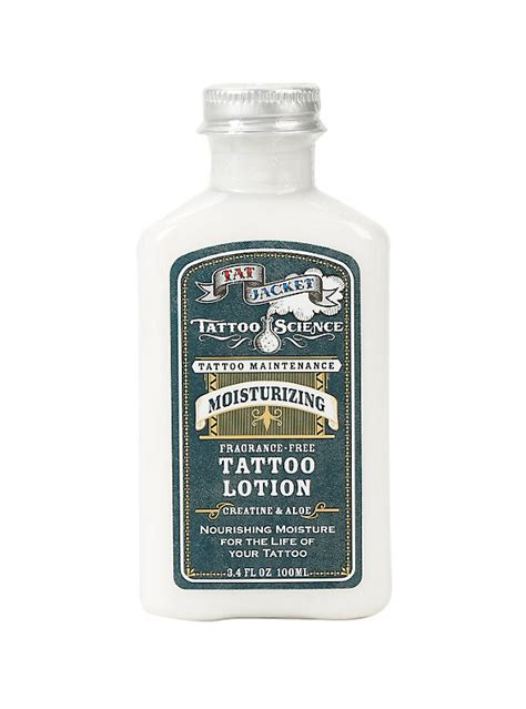tattoo good lotion tatjacket tattoo lotion hot topic