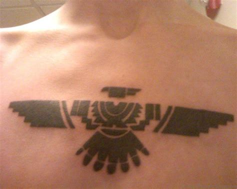 aztec eagle tattoo designs 50 best zodiac aztec tattoos on chest