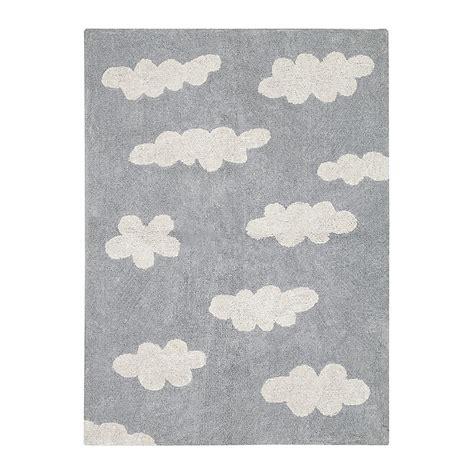 tappeto lavabile tappeto lavabile nuvole grigio canals babookidsdesign