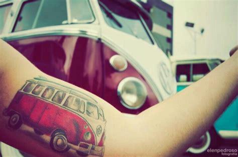 volkswagen bus tattoo vw s tattoo kombi ink pinterest