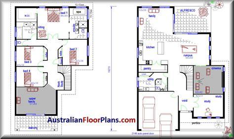 2 Storey House Designs And Floor Plans Google Search House Plans Philippines Blueprints