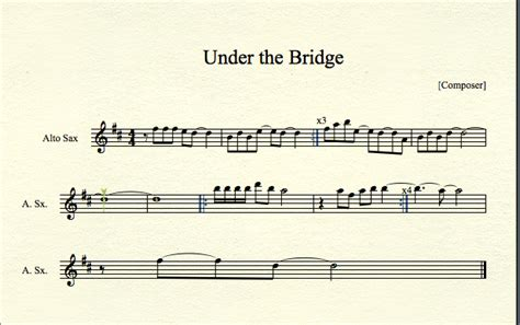 theme music from the bridge under the bridge for alto sax by mrconan42 on deviantart