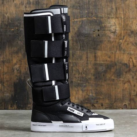 Court Play X Ueg Black x ueg court play boot black white