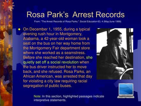 Rosa Parks Arrest Records Ppt The Historian S Toolbox Powerpoint Presentation Id 1185089