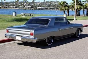 1965 chevrolet chevelle malibu custom 2 door hardtop 157340