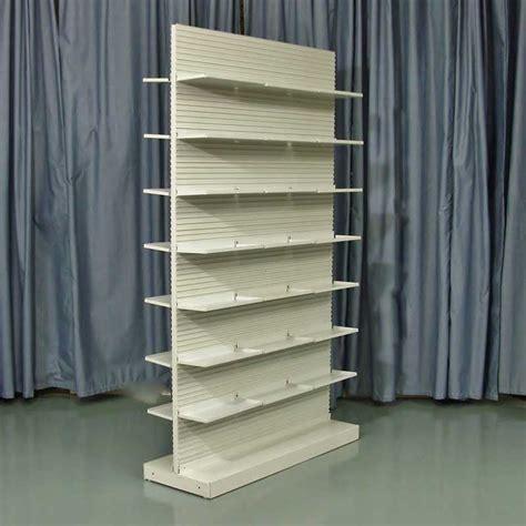 used uniweb double side pharmacy shelves 48 inch