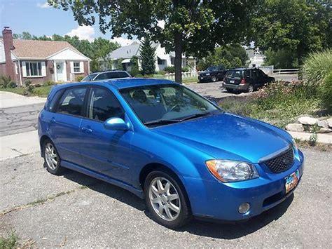 2006 Kia Spectra 5 Buy Used 2006 Kia Spectra5 Blue Hatchback 4 Door 2 0l Only