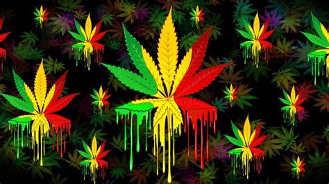 marijuana colors marijuana leaf rasta colors paint mug by