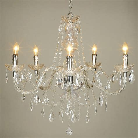 12 Collection Of Chandelier Lights Acrylic Chandelier Lighting