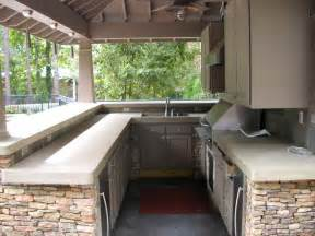 Outdoor Kitchen Countertops Outdoor How To Outdoor Kitchen Countertop Material Kitchen Countertops Design Outdoor