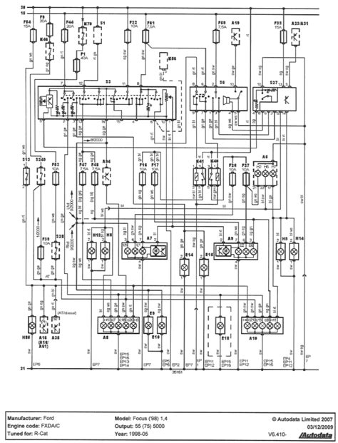 focus wiring diagram 20 wiring diagram images wiring