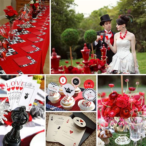 queen themed birthday party queen of hearts wedding wedding ideas pinterest